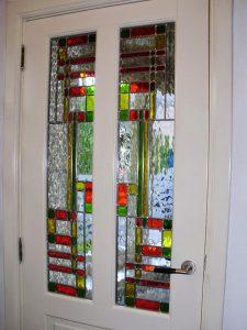4 Glas in Lood deur-panelen